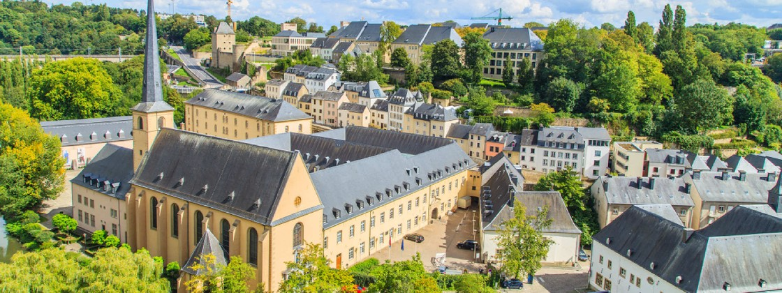 Short break in luxembourg city wanderlust view over luxembourg city in luxembourg shutterstock see credit below altavistaventures Choice Image