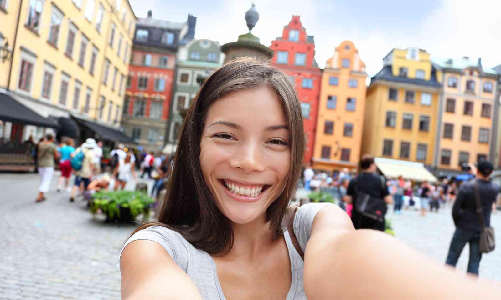 Enjoying Gamla Stan in Stockholm (Dreamstime)