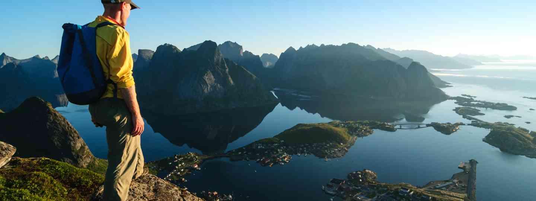 Man hiking in Norway (Dreamstime)