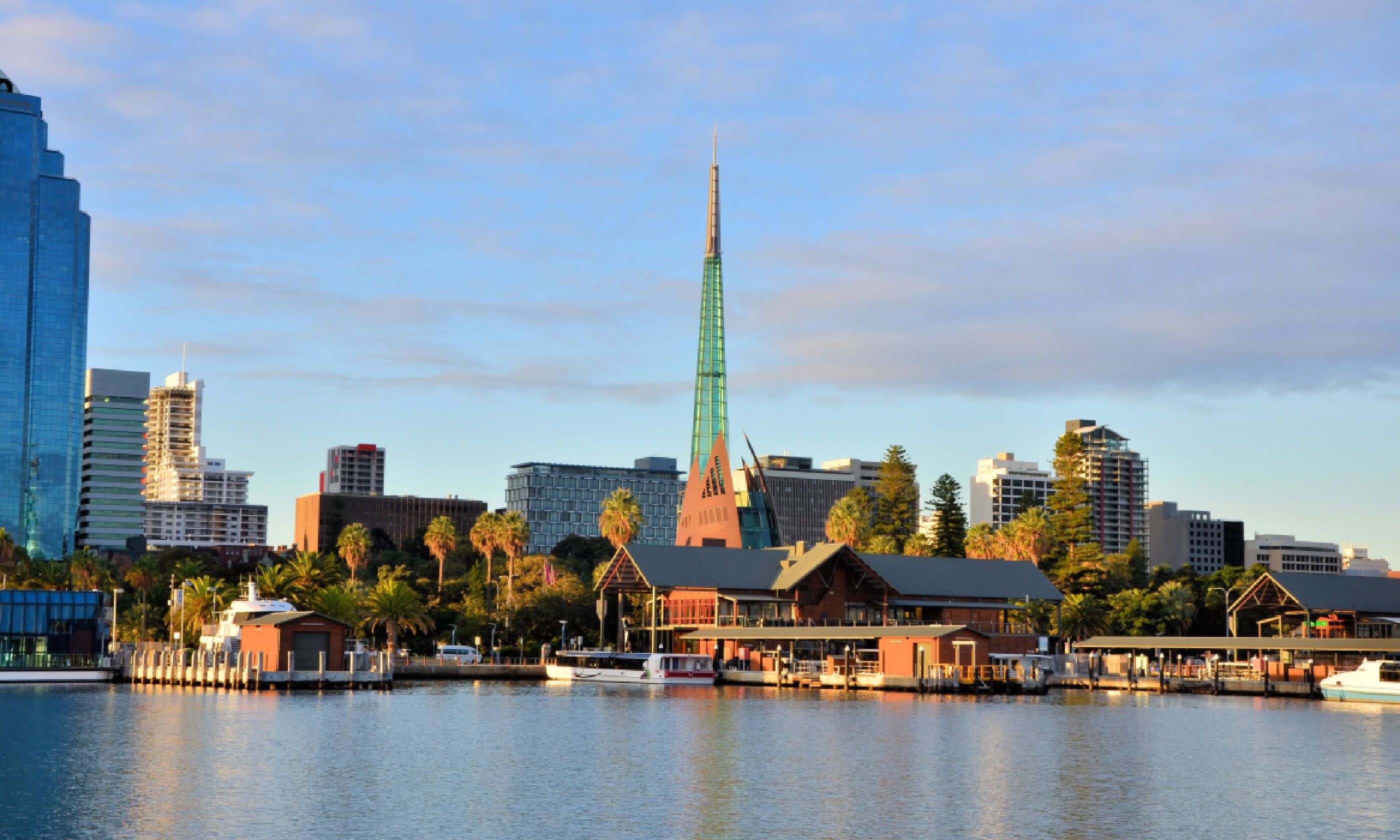 View of Perth City Centre from Swan River (Shutterstock)