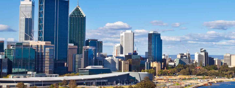 Perth skyline (Shutterstock: see credit below)