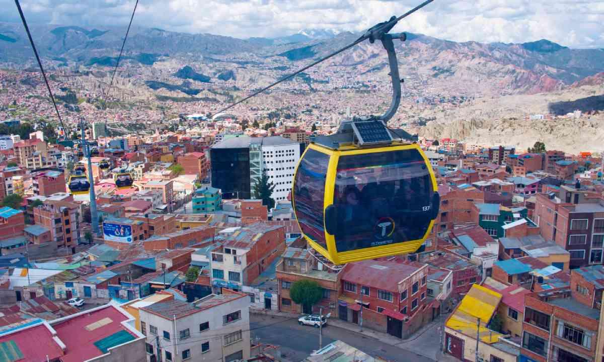 La Paz cable car (Shutterstock)