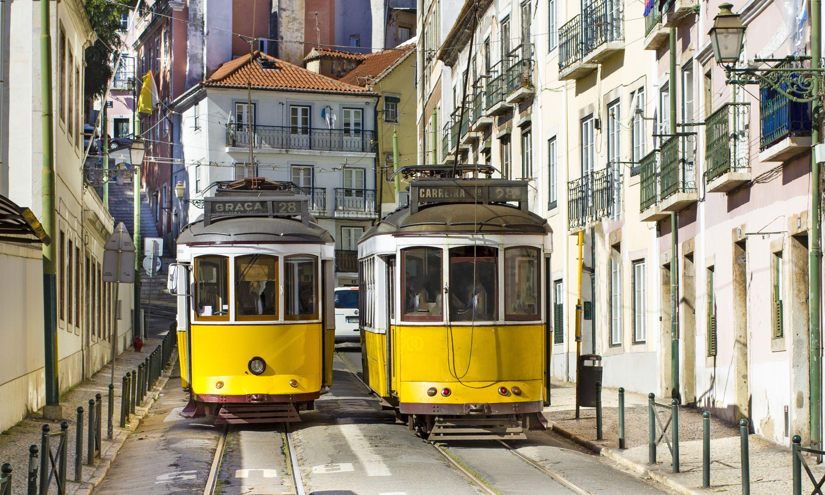 Lisbon Trams (Shutterstock.com)