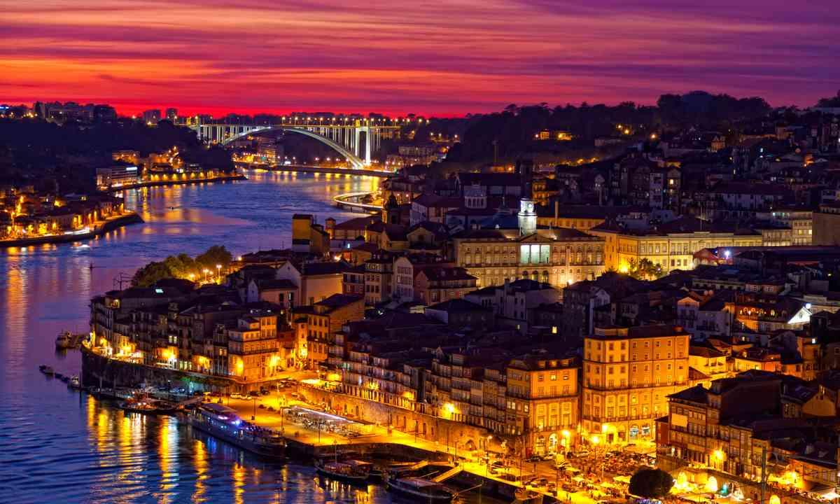 Porto sunset (Shutterstock.com)