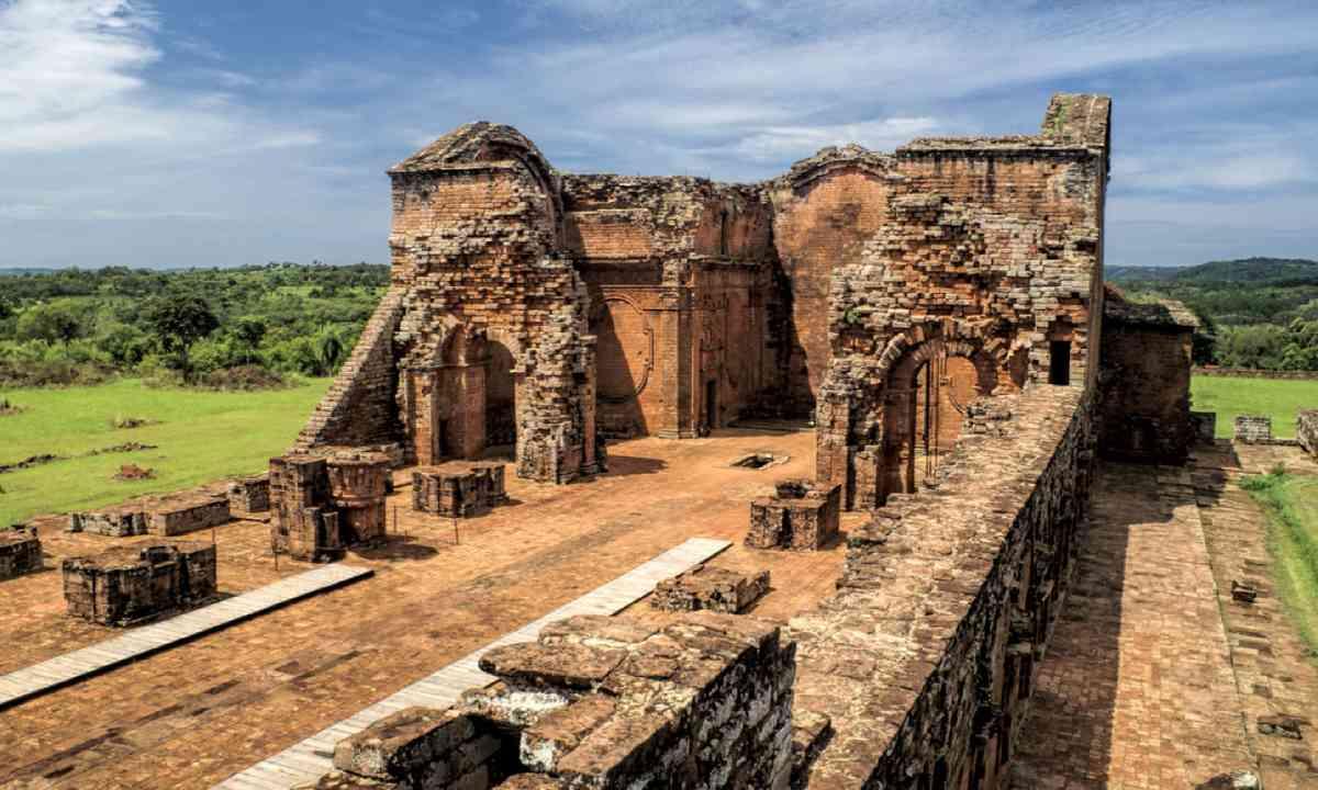 Jesuit ruins in Paraguay (Shutterstock)