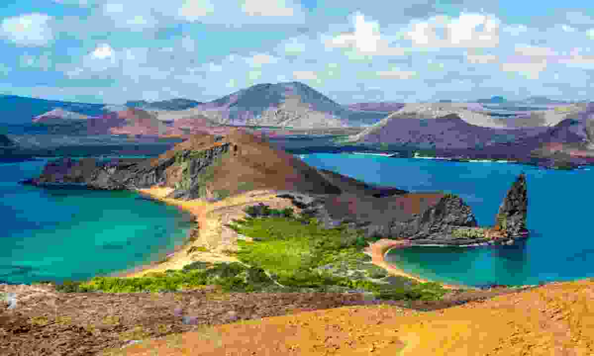 Bartolome Island in the Galapagos Islands. (Shutterstock)