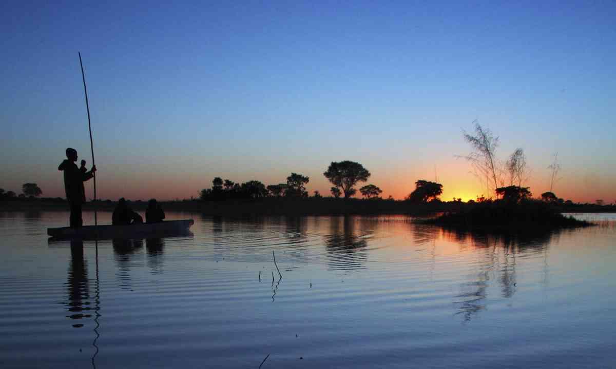 Sunset on the Delta (Shutterstock.com)