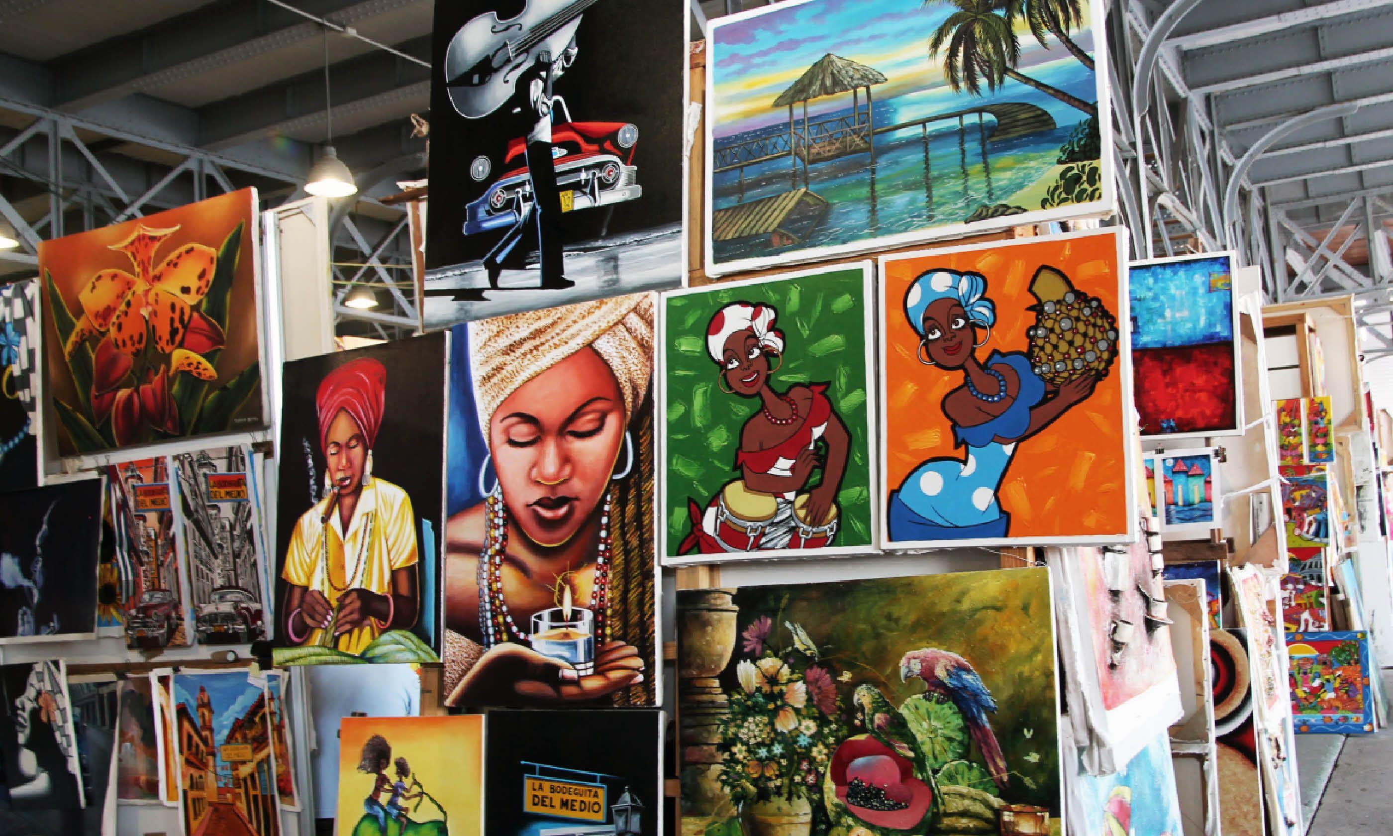 Cuban artists paintings (Dreamstime)