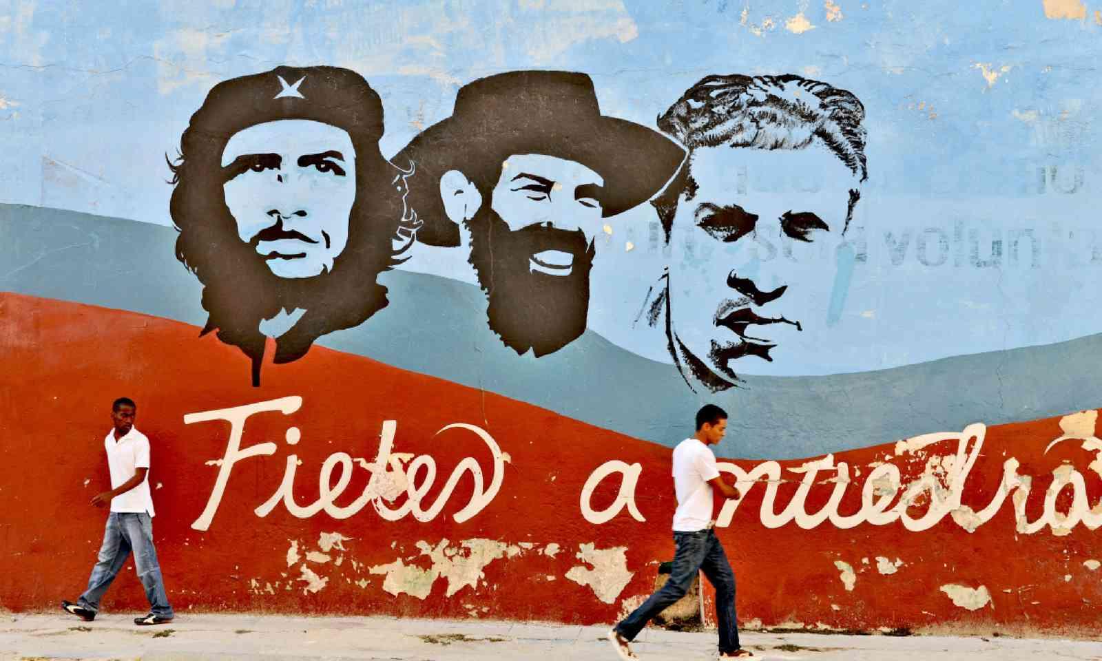 Wall paintings in Havana (Shutterstock)