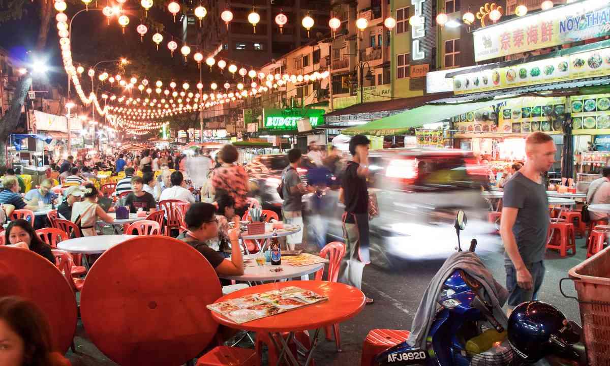 Jalan Alor, Kuala Lumpur (Shutterstock.com)