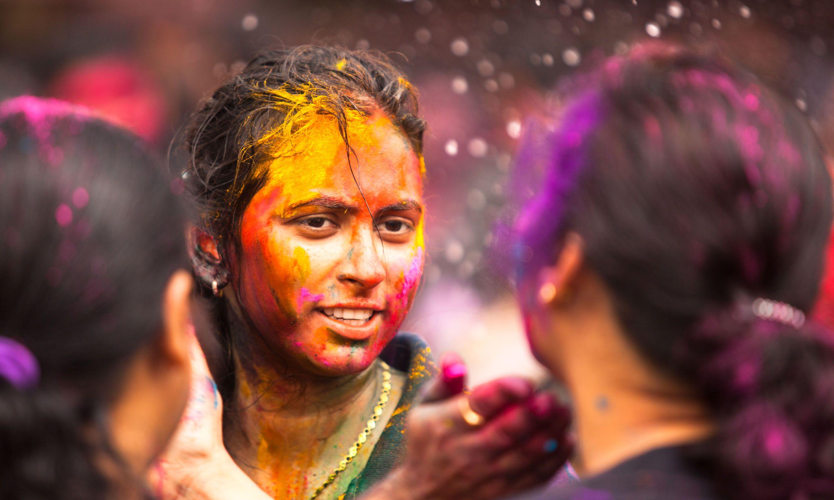 Celebrating Holi in Kuala Lumpur (Shutterstock.com)