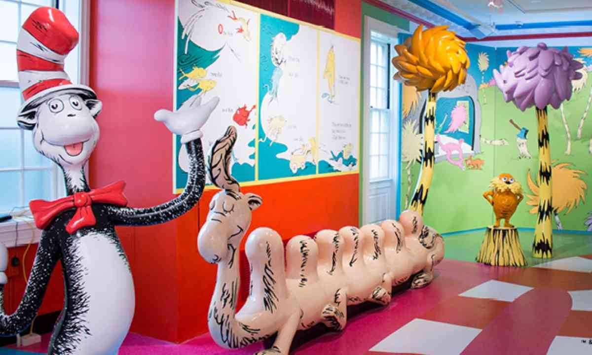 Inside the Amazing World of Dr Seuss (Springfieldmuseums.org)