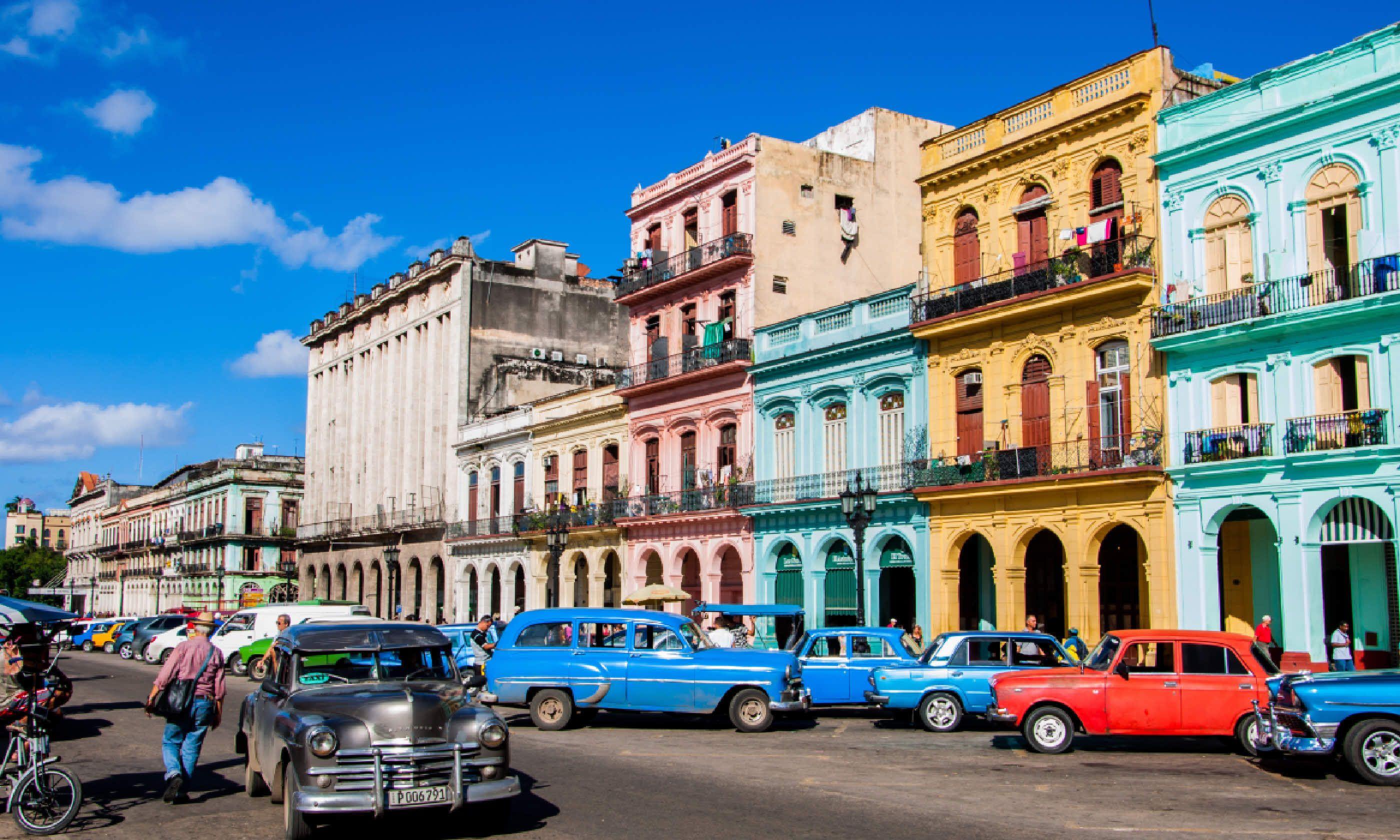 Street cars in Havana (Shutterstock)