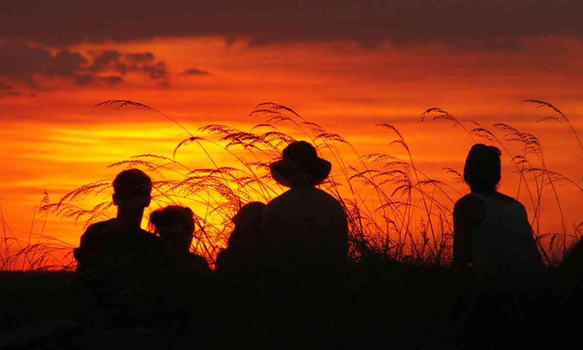 Kakadu sunset (Dreamstime)