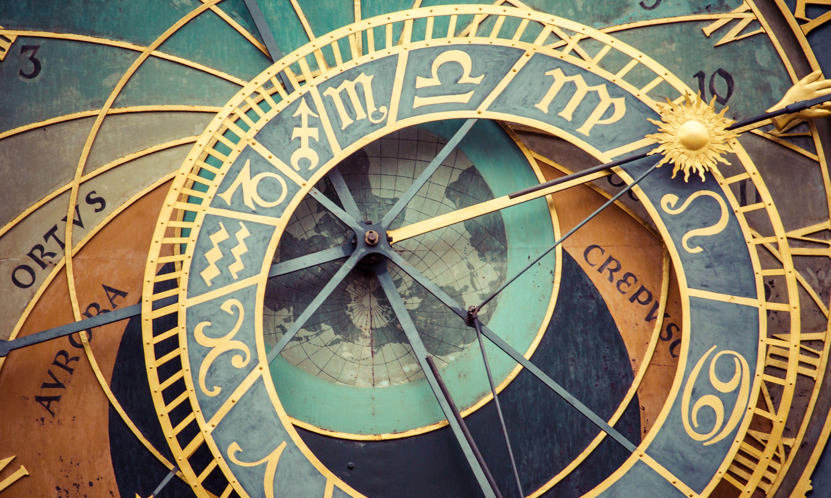 Prague's Astronomical clock (Shutterstock.com)