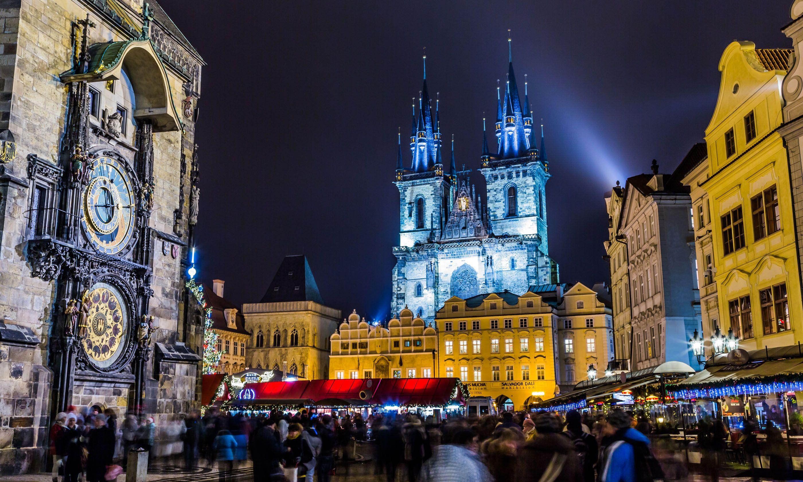 Prague Christmas Markets (Shutterstock.com)