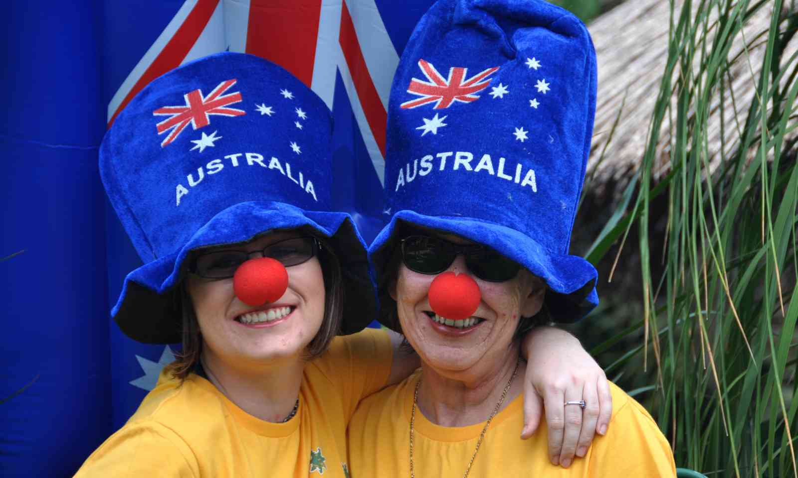 Mother and daughter celebrating Australia Day (Dreamstime)