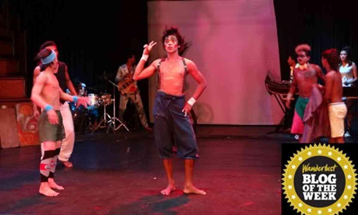 Cambodian circus (Brendan Lee)