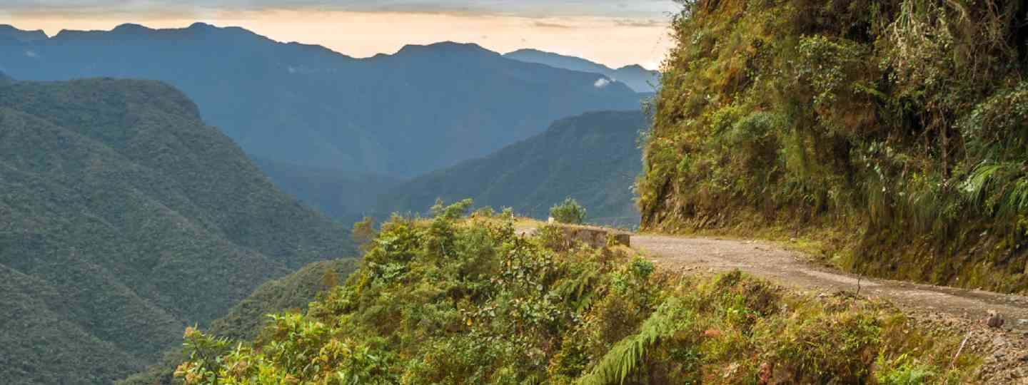 Death Road to Coroico (Shutterstock)