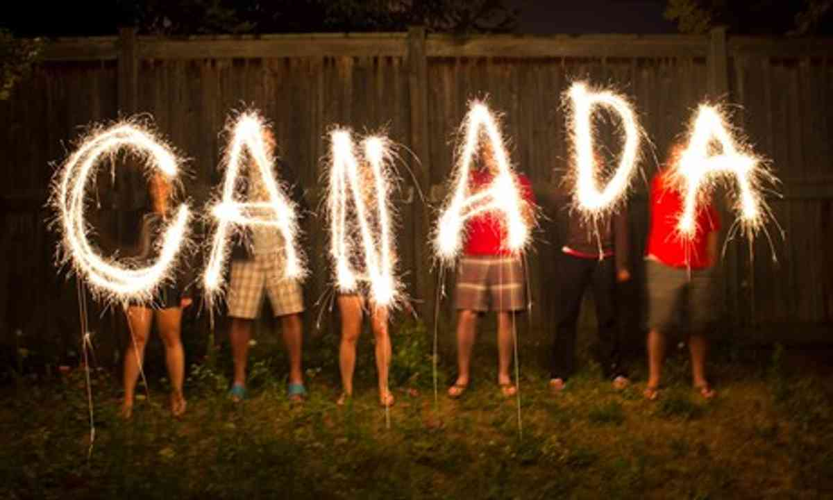 Canada Day celebrations (Shutterstock.com)