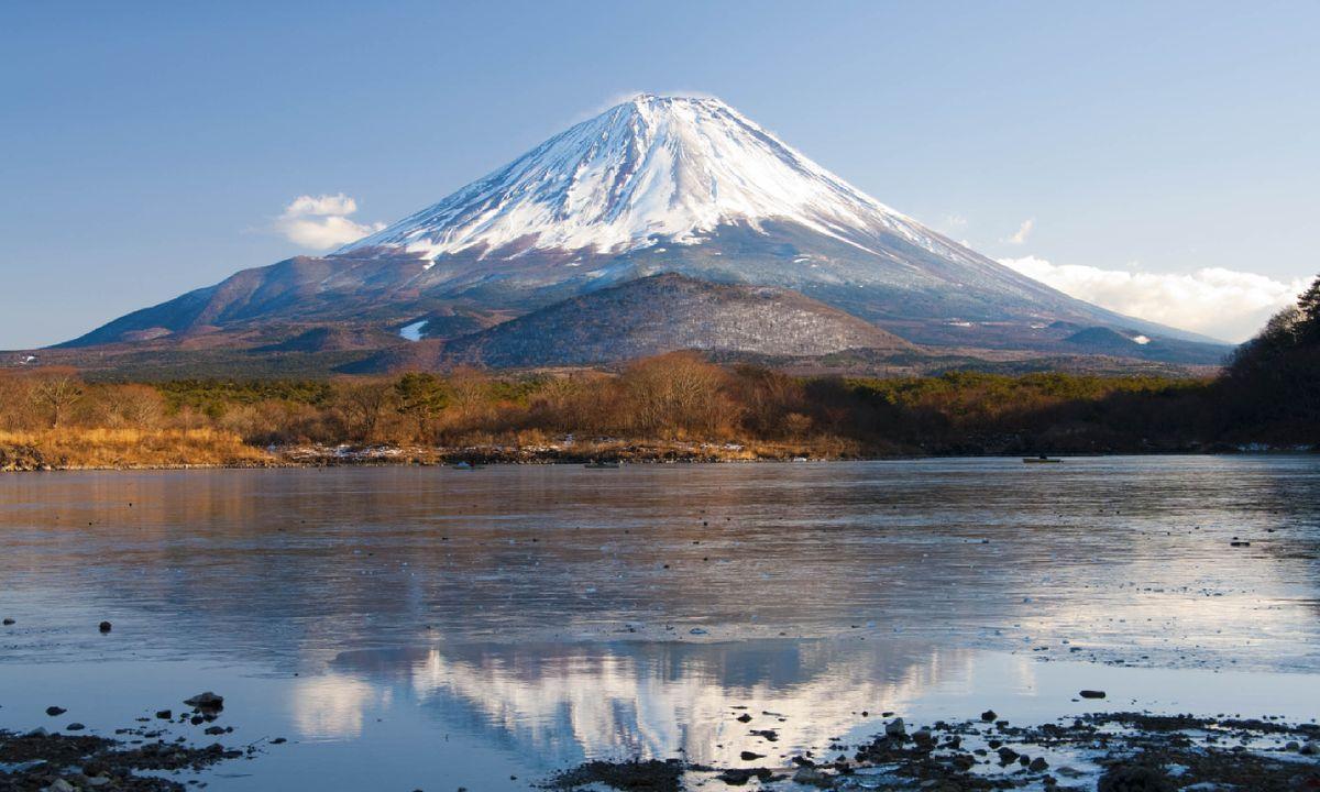 Hiking up Mount Fuji