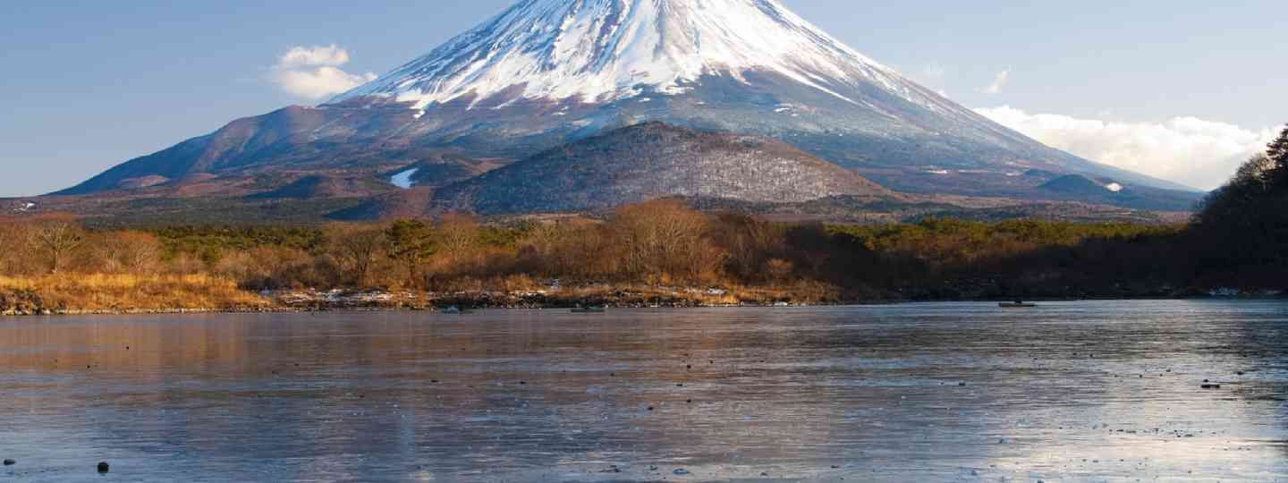Mount Fuji Reflection (Shutterstock)
