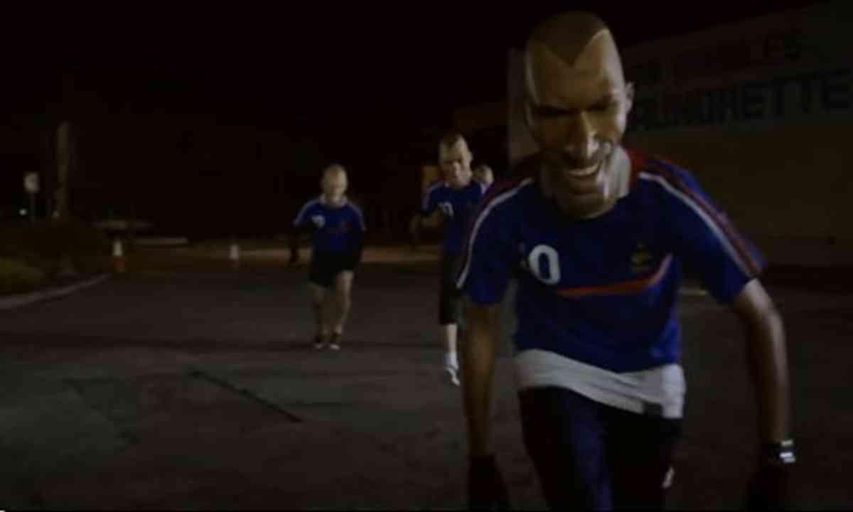 Zinedine Zidane (Screen grab from YouTube video)