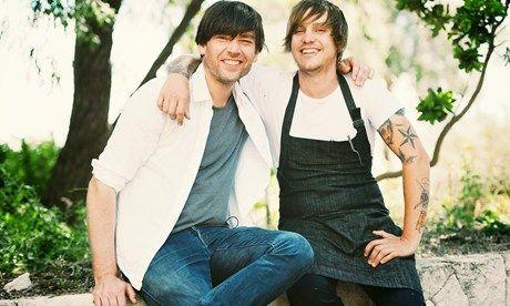 Alex James and Matt Stone (Russell Lord)