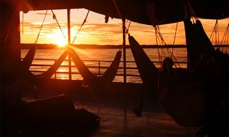 Amazonian hammocks (Lars and Lianne)