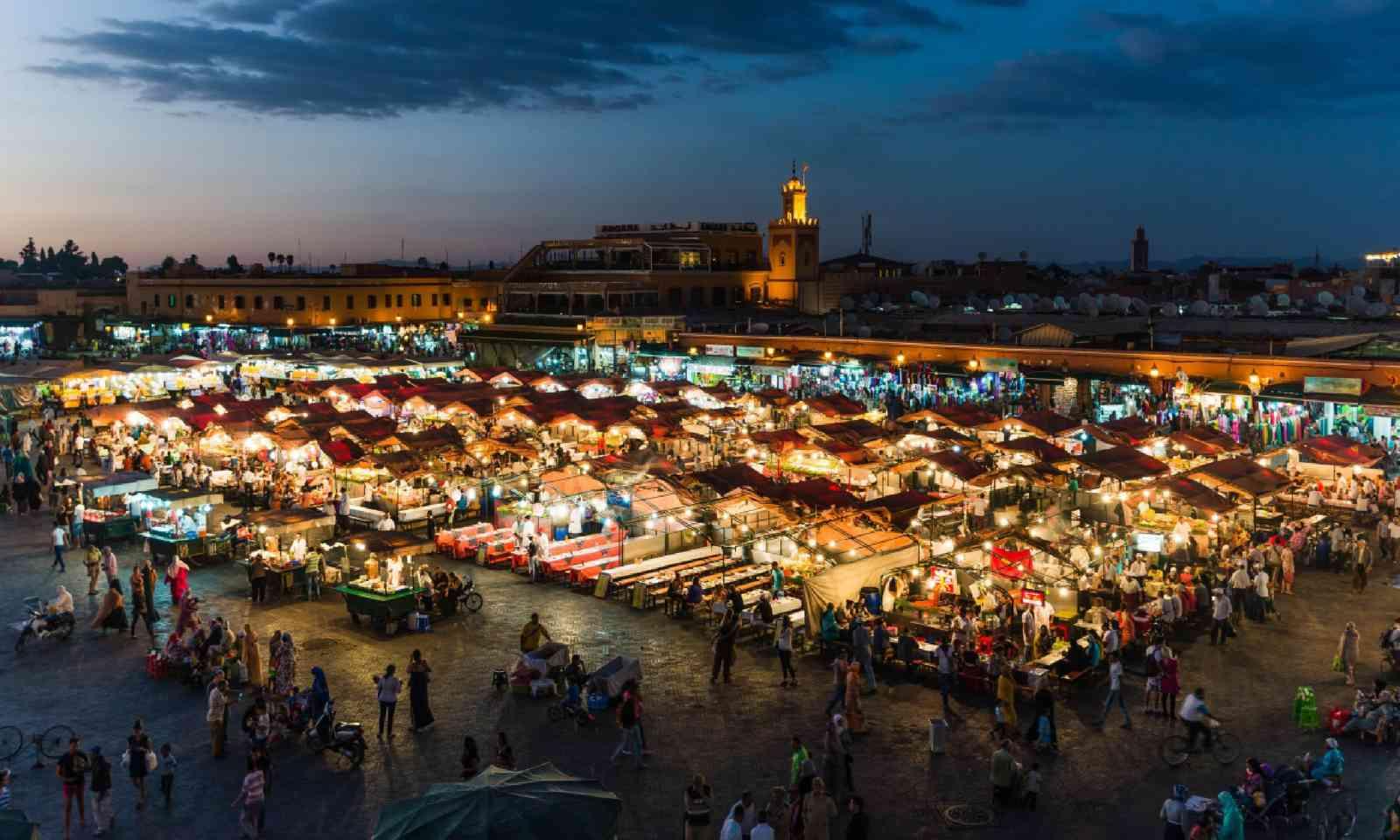 Djemaa el Fna marketplace (Shutterstock)