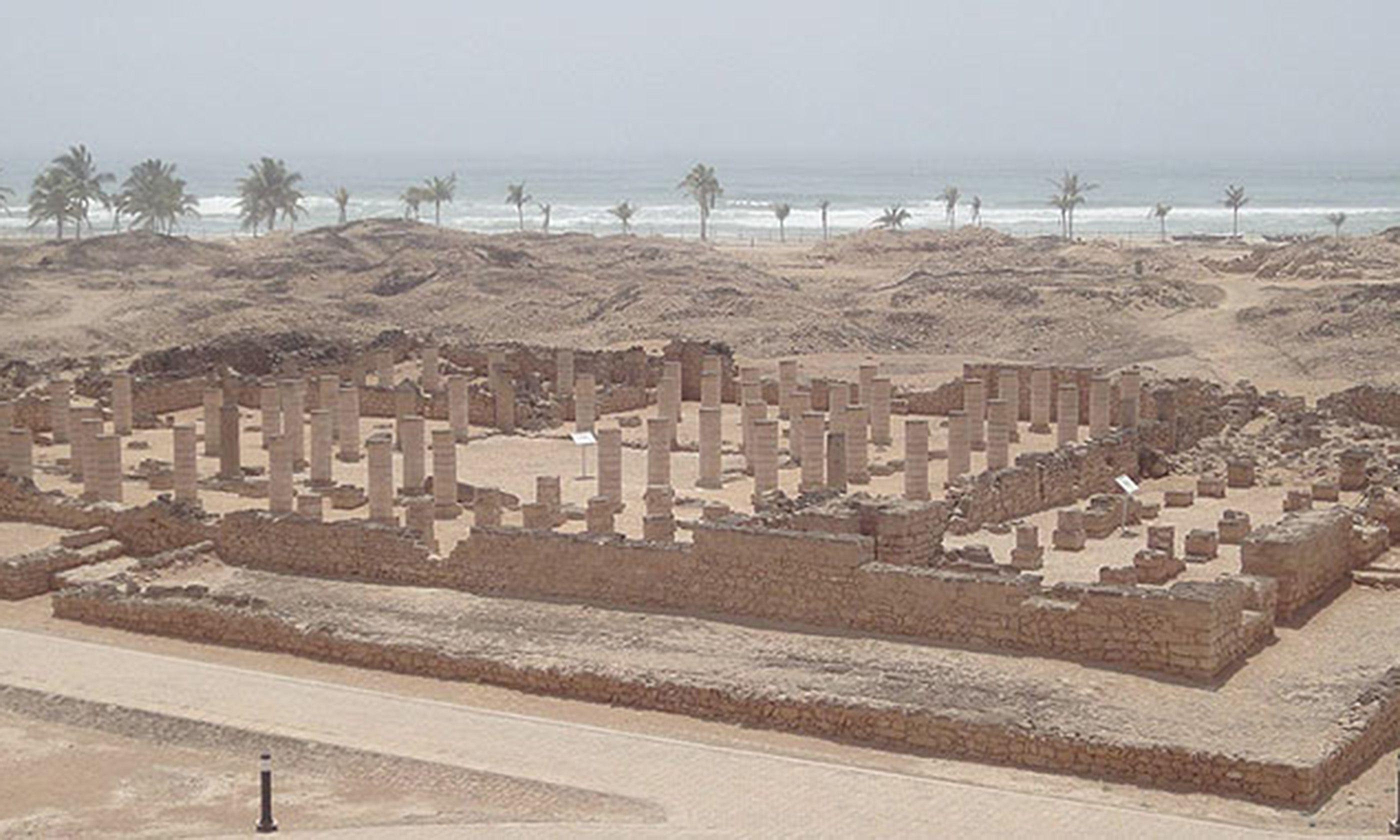 Al-Baleed ruins (Joāo Leitão)