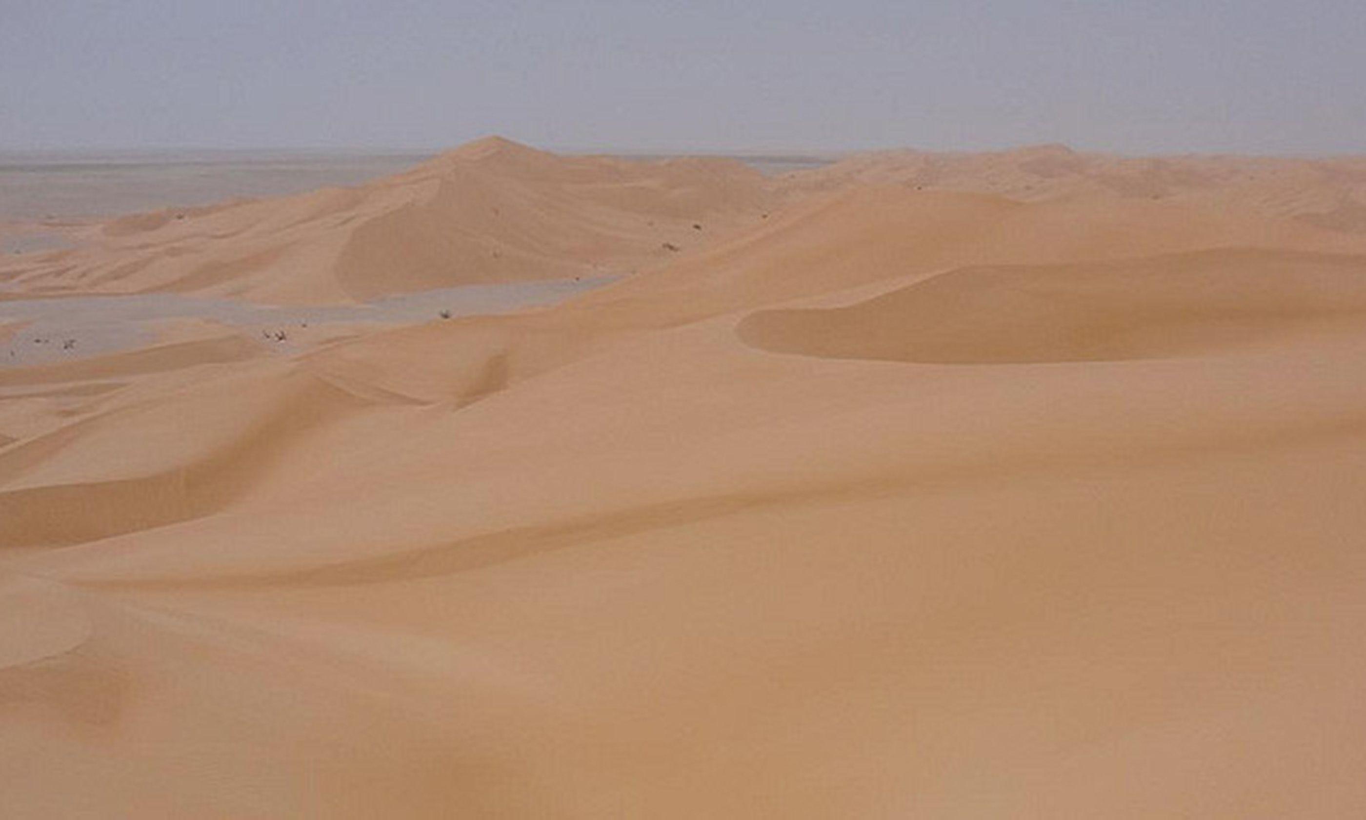Armlet sand dunes
