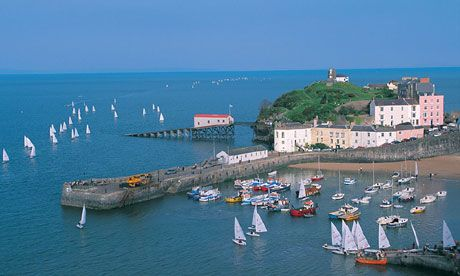Harbour Tenby Pembrokeshire Coast Towns & Villages