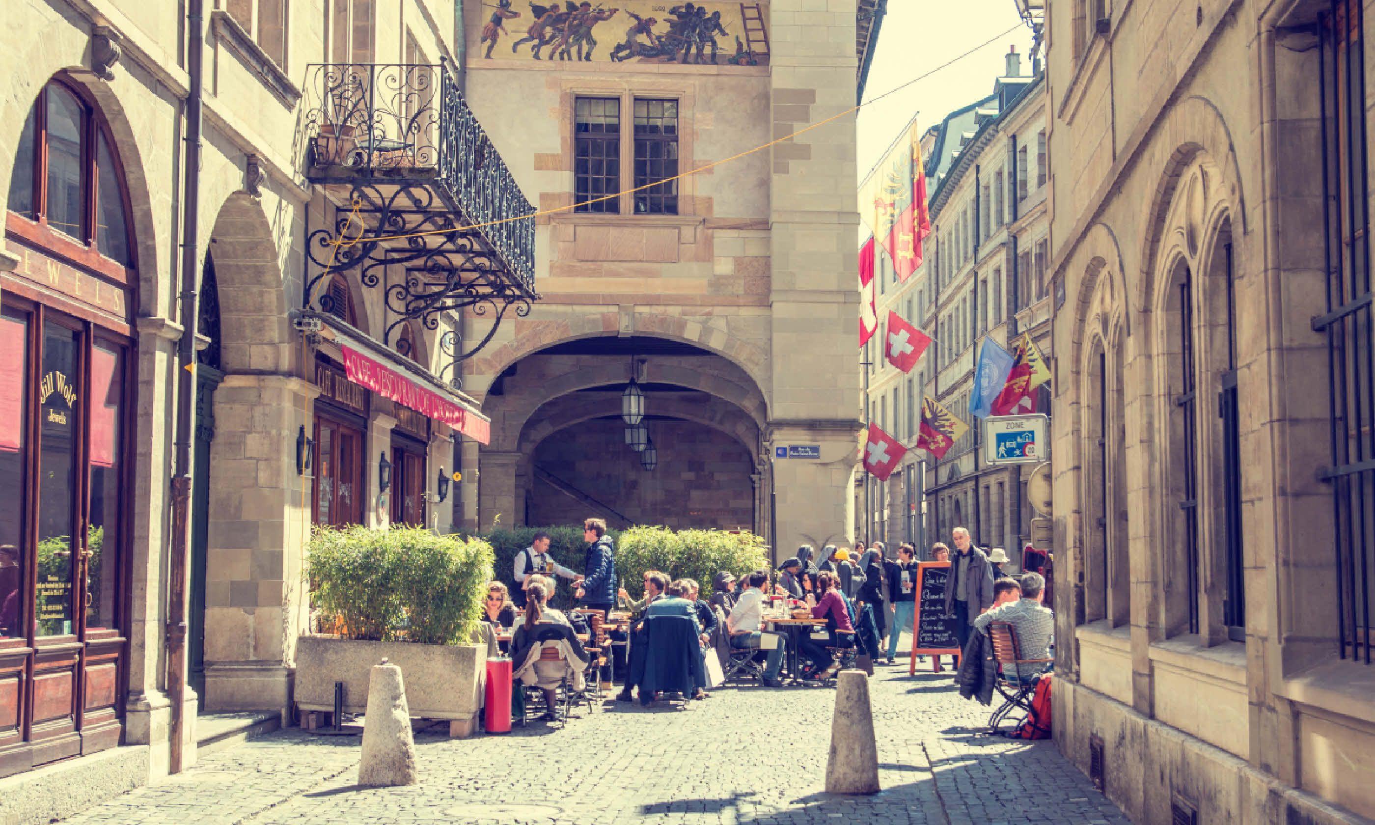 Geneva Old Town (Shutterstock)