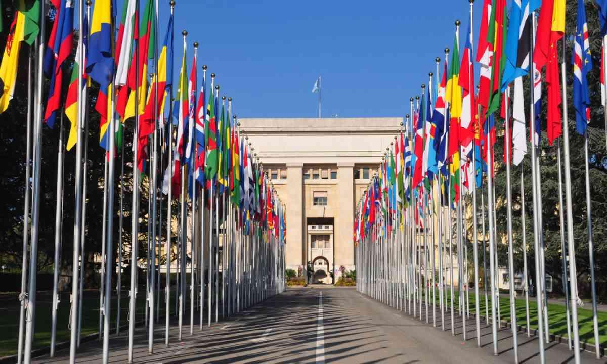 Palais des Nations (Shutterstock)