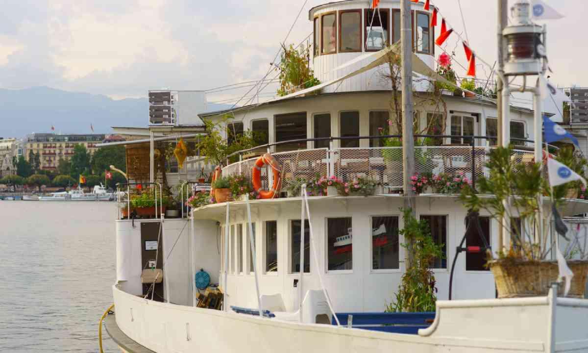 Paddle steamer on Lake Geneva (Shutterstock)