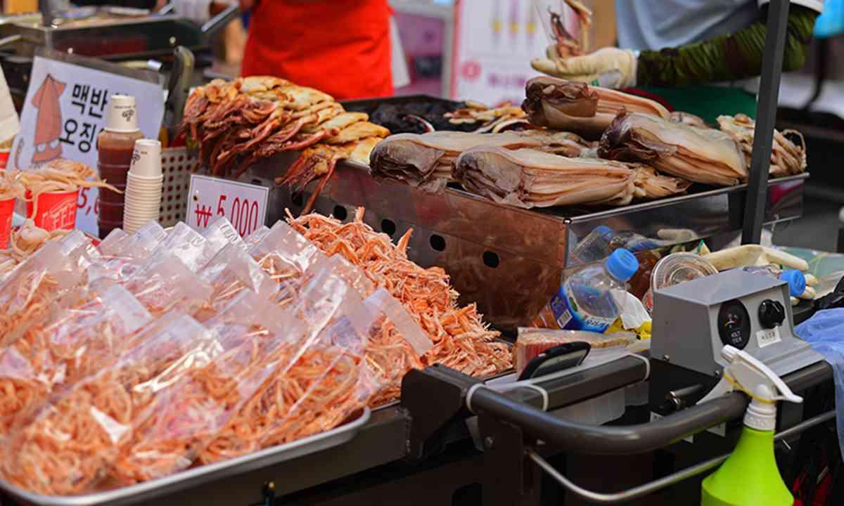 Dried seafood (Mari Bankova)