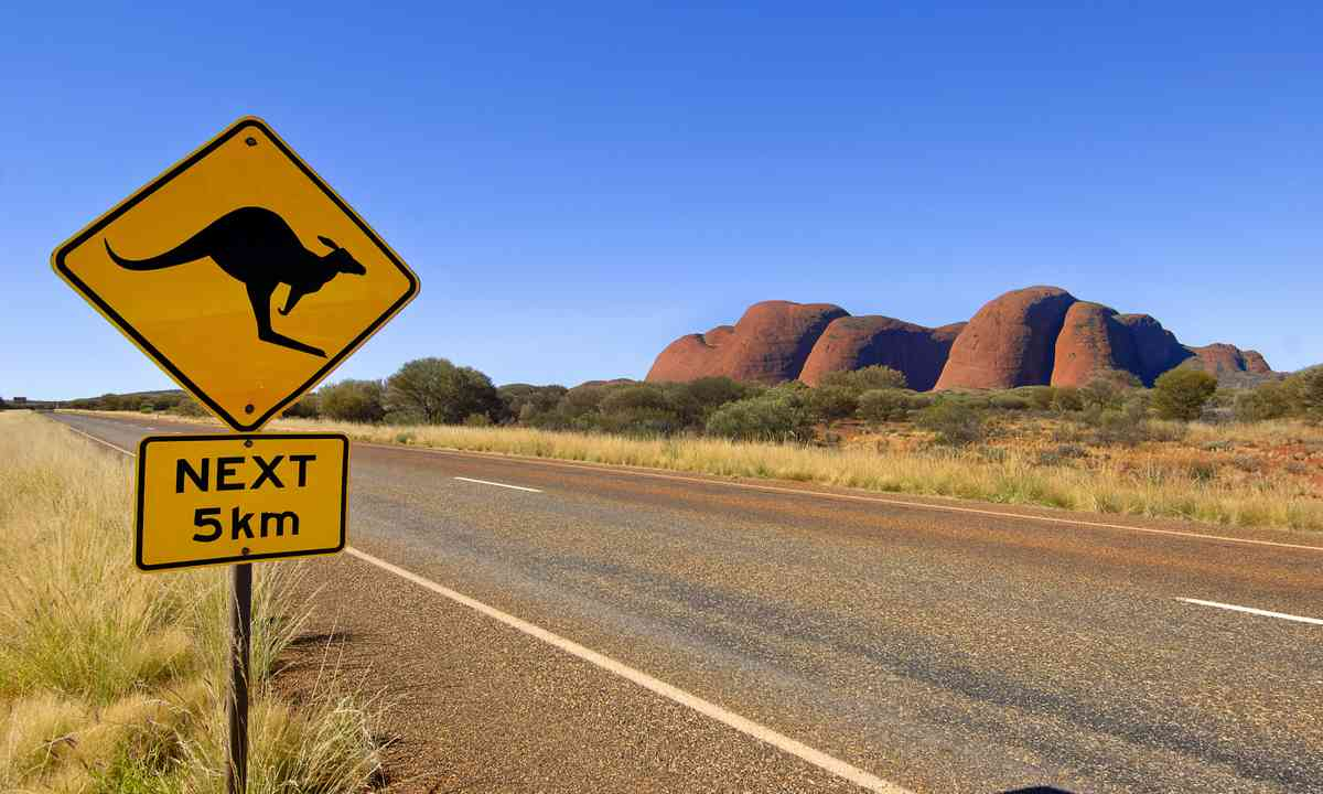 Road to the Olgas (Shutterstock.com)