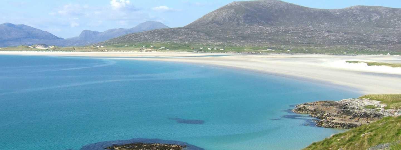 Luskentyre beach on Harris (Dreamstime)