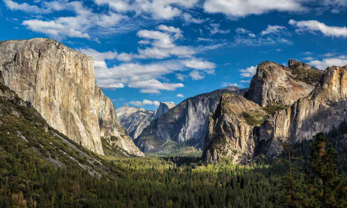 Yosemite National Park Valley (Shutterstock)