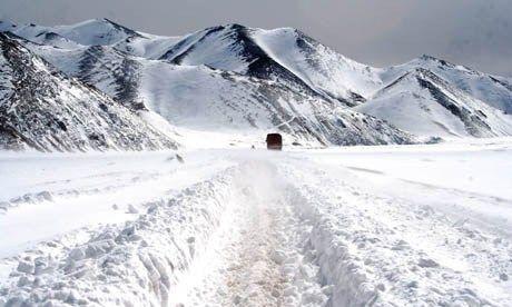 Snowbound in Tibet (Charlie Walker)