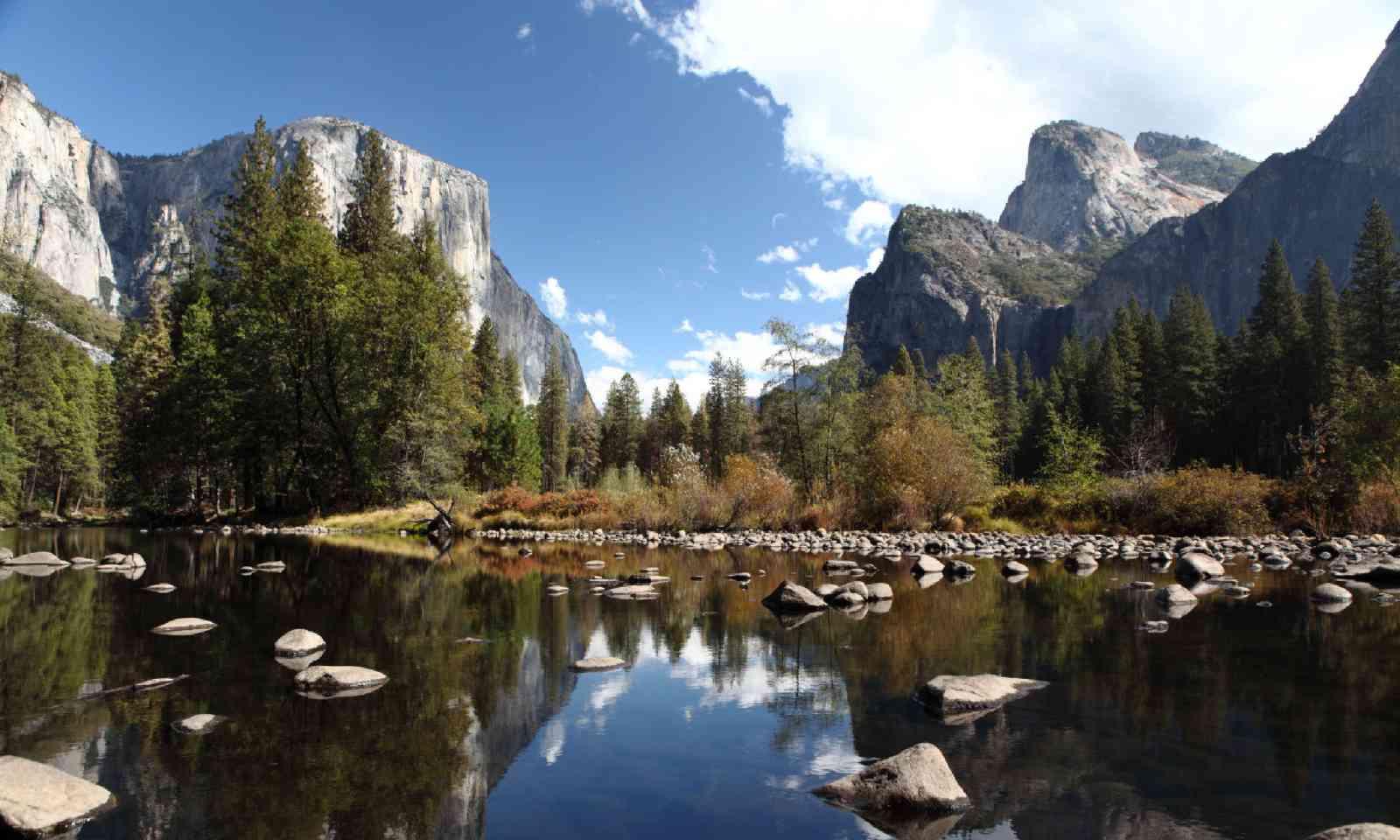 Merced River reflection (Shutterstock)