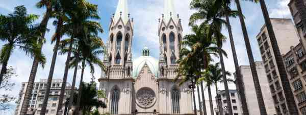 Cathedral in Sao Paulo (Shutterstock)