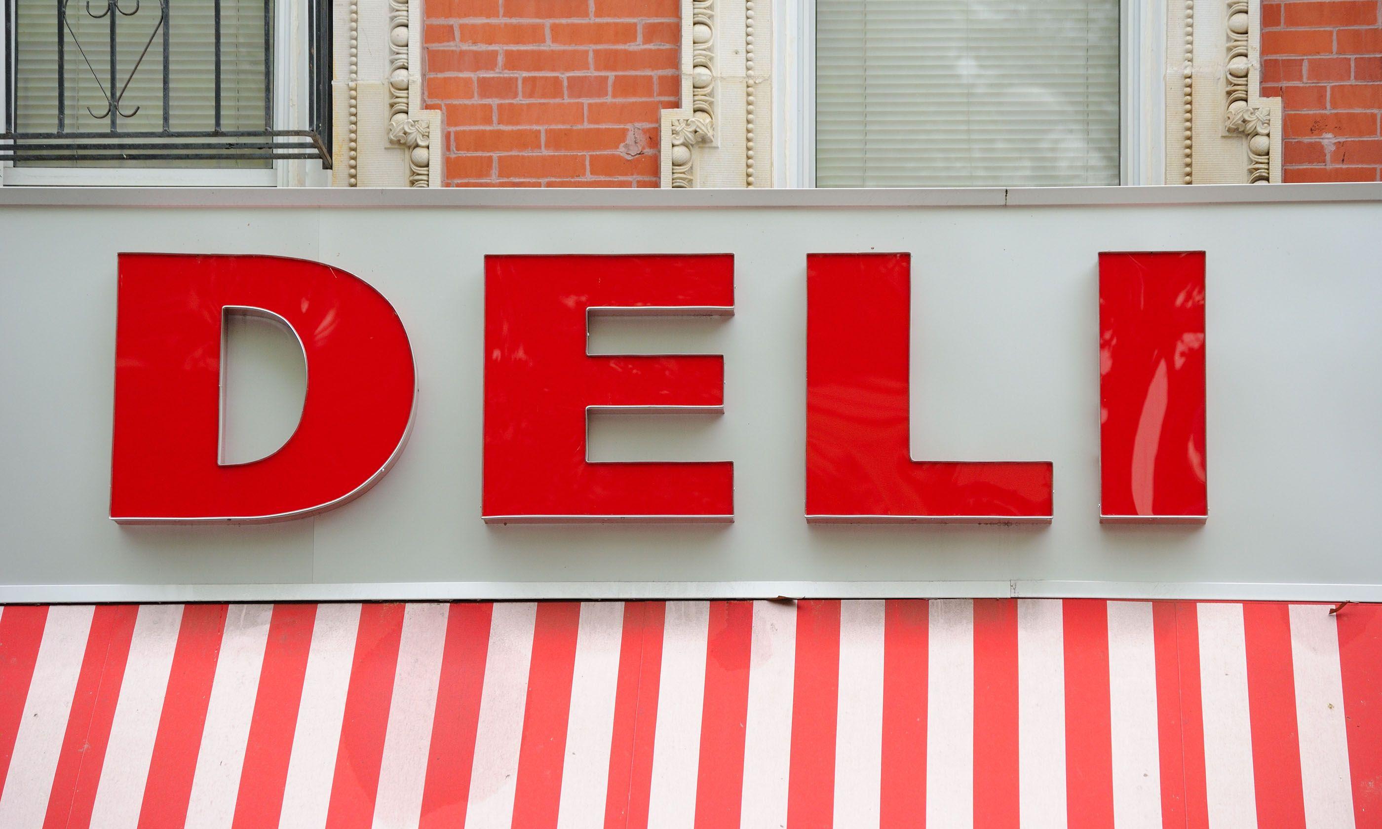 New York Deli sign