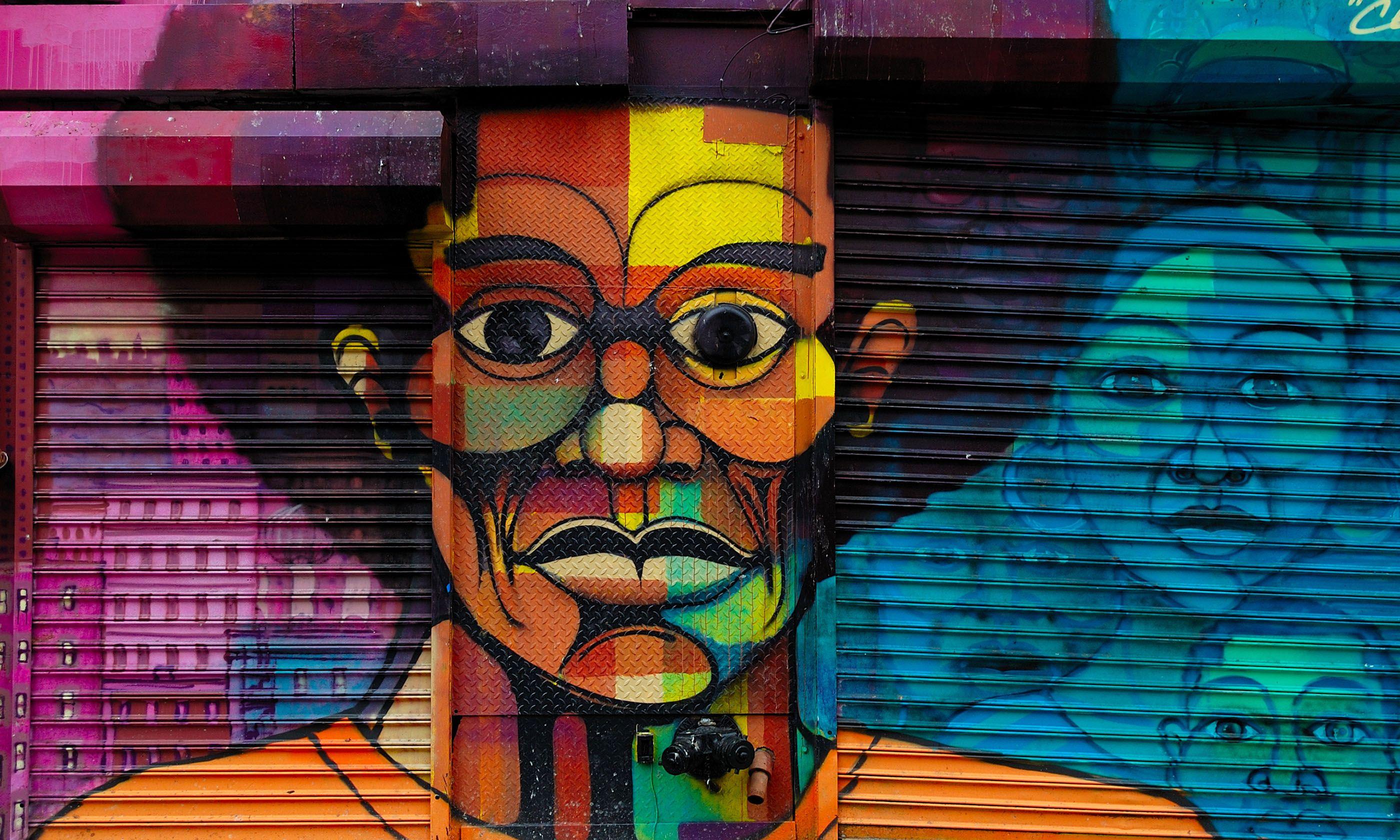 Grafitti in Harlem (Shutterstock.com)