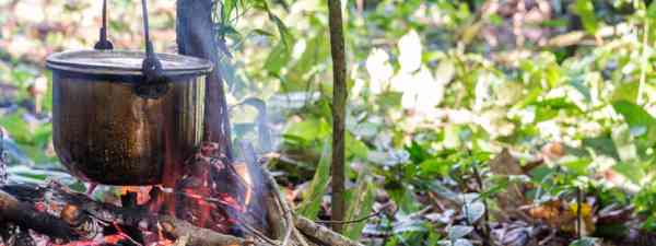 Cooking in the Amazon rainforest (Shutterstock)