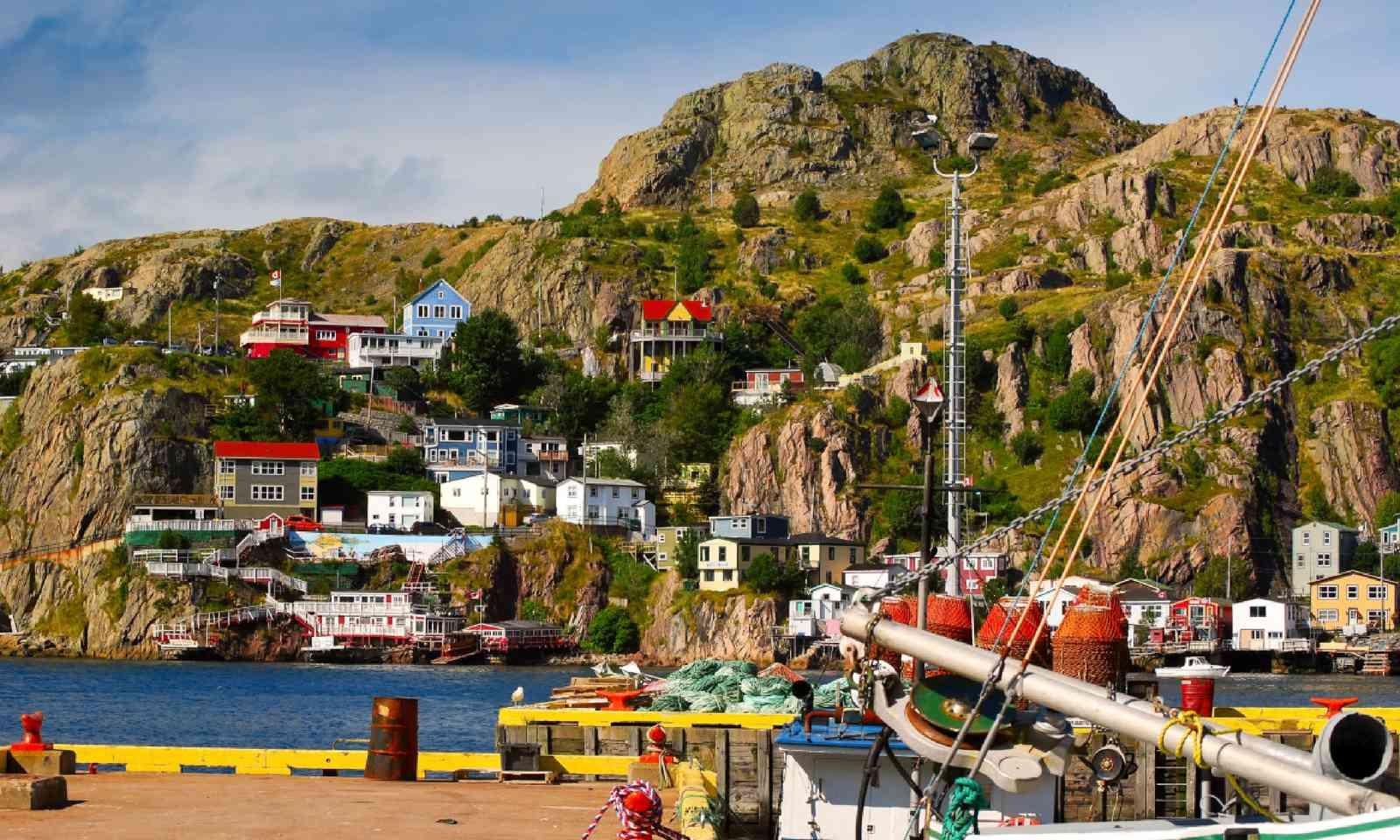 St.John's, Newfoundland (Shutterstock)