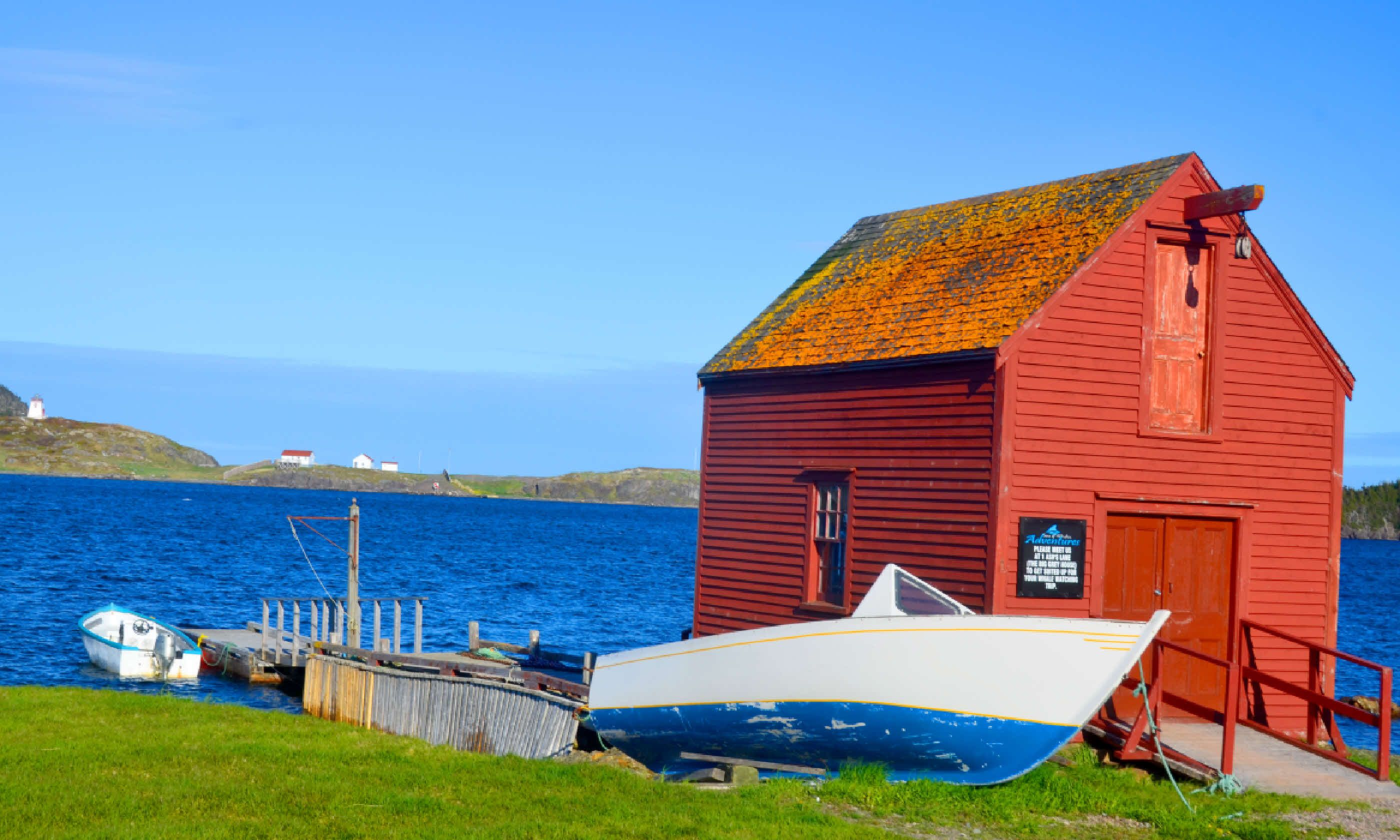 Fisherman house in Newfoundland (Shutterstock)