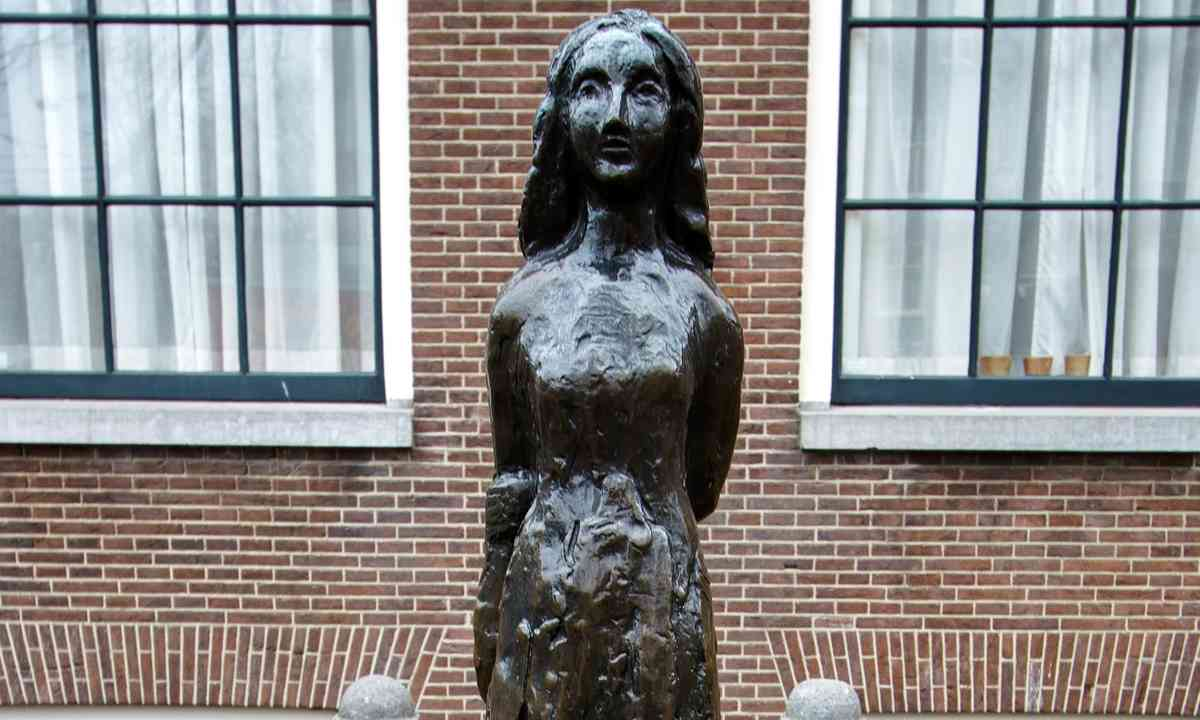 Anne Frank Statue (Shutterstock.com)