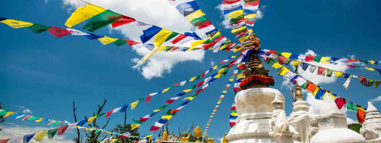 Buddhist monastery, Nepal (Shutterstock)